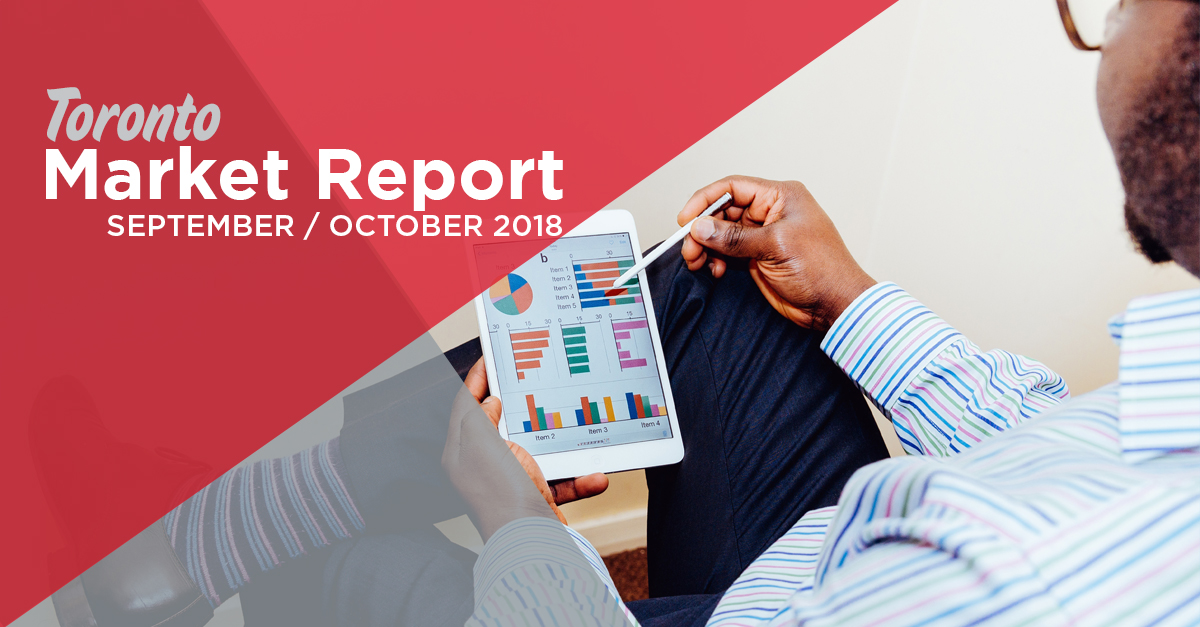 Toronto Condo Real Estate Market Report September October 2018