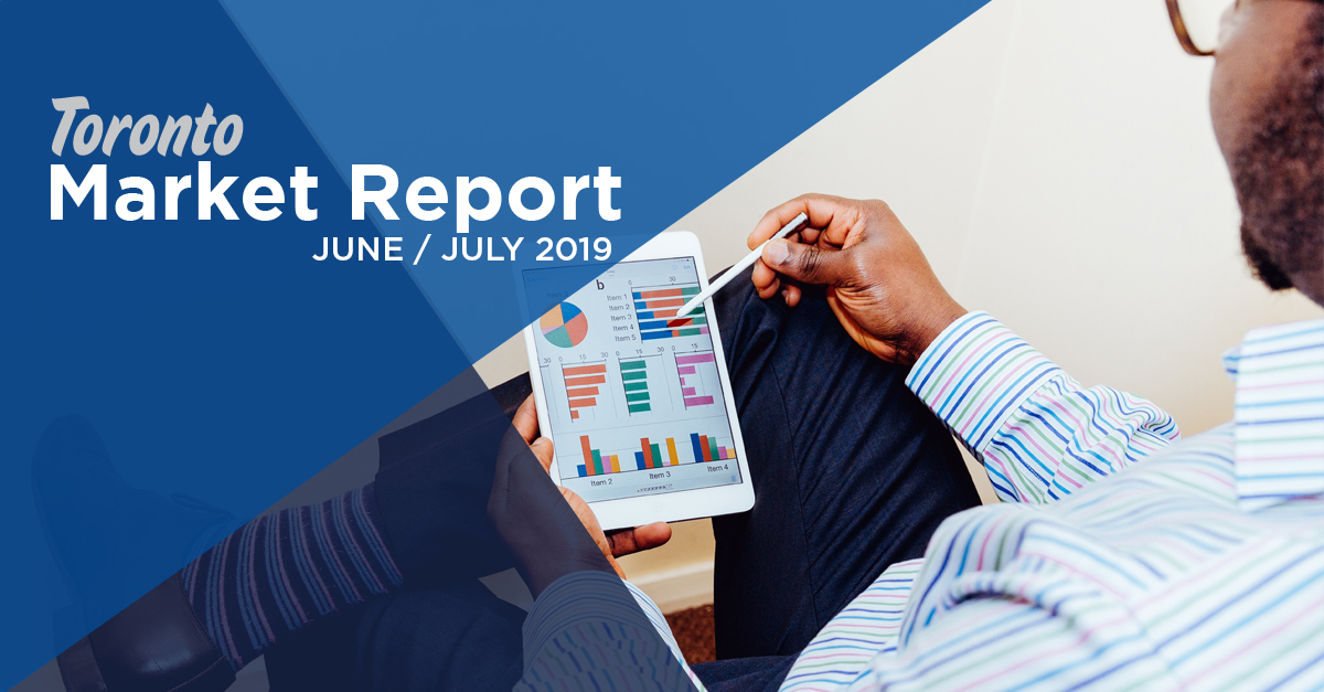 Toronto Condo Real Estate Market Report June-July 2019